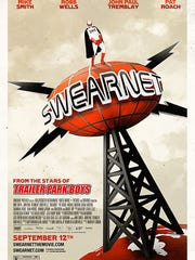 """""""Swearnet: The Movie"""" poster."""