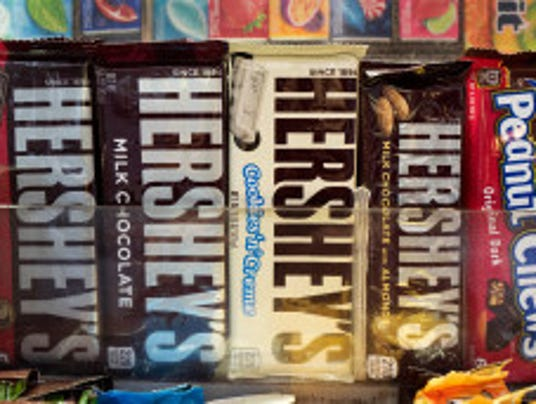 Hershey's to reduce sweets' calorie count
