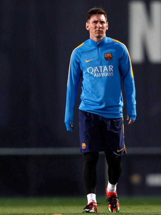 best sneakers b867e 8bba1 Messi on the bench for Real Madrid vs. Barcelona