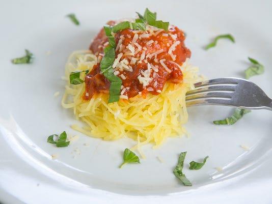 The Ghoulish Roasted Spaghetti Squash