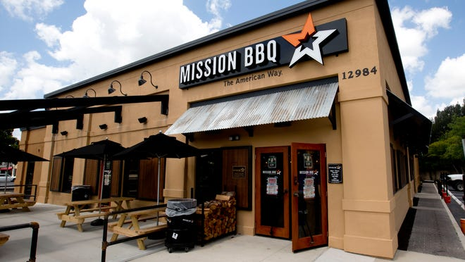Mission BBQ restaurant on U.S. 41 in Fort Myers.