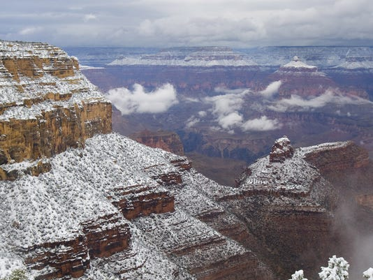 Grand Canyon weather art