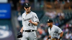Chris Sale leads the American League with 14 wins and