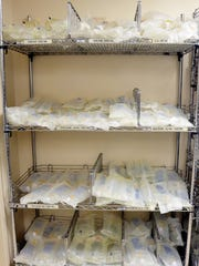 IV bags are scarce after the power outage in Puerto Rico lingers on. Medical staff are worried with flu season patients.