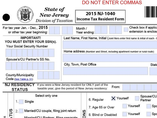 Nj To Delay State Tax Refunds