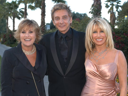 Local-based celebrities Lorna Luft, Barry Manilow and