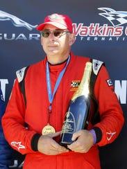 U.S. Vintage Grand Prix Governor's Cup winner Jeffrey