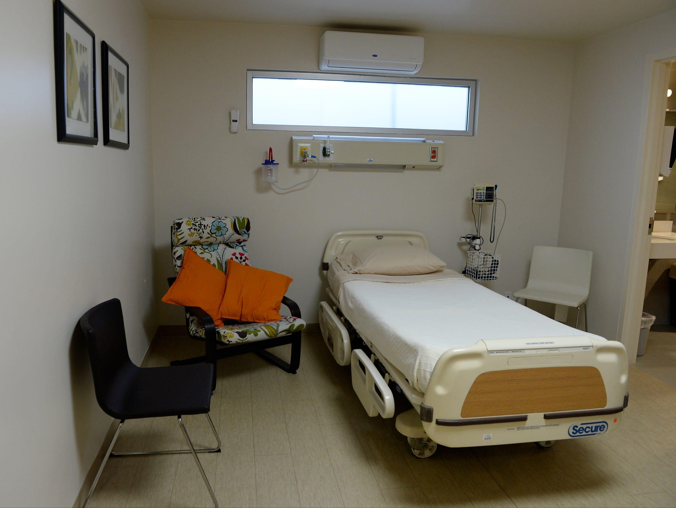 The room where Gordie Howe stayed at Novastem in Tijuana,