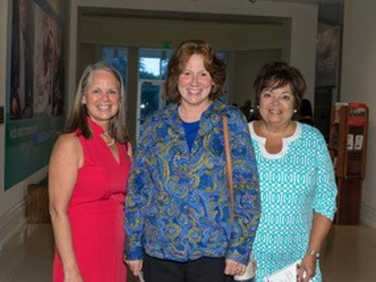 Karen Whalen, Carol Coppola and Elaine Koziel attend