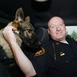 Muskingum Count Sheriff's Office Deputy Joe Wilson recently took to the roads with his new K-9 partner Vegas.