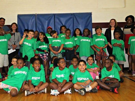 YMCA Power Scholars Academy participants, Y leaders,