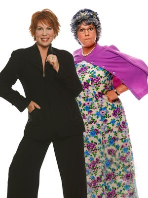 """Vicki Lawrence (left) and her alter ego, Mama (right, portrayed by Lawrence), will appear in """"Vicki Lawrence and Mama: A Two-Woman Show"""" at Chinook Winds Casino."""""""