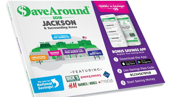 Free Save Around book for Insiders.