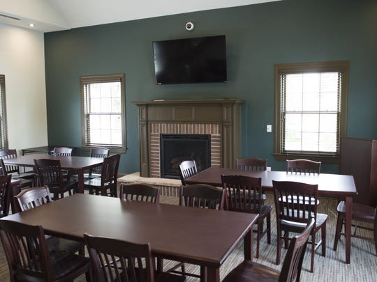 Renovation of the Sigma Phi Epsilon fraternity house at 121 E. Lake St. included the addition of a library.