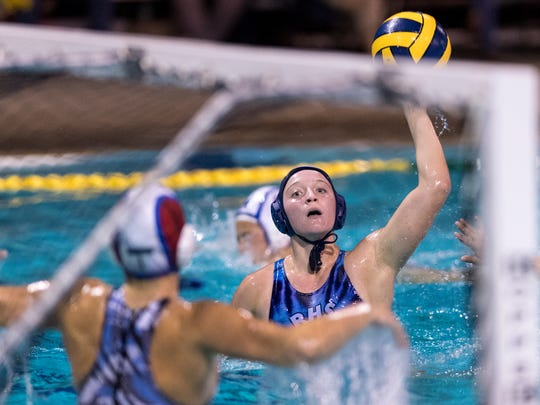 Redwood's Skylar Ford is a three-time West Yosemite League most valuable player for girls' water polo. She was named the league MVP during her 2017, 2018 and 2019 seasons.