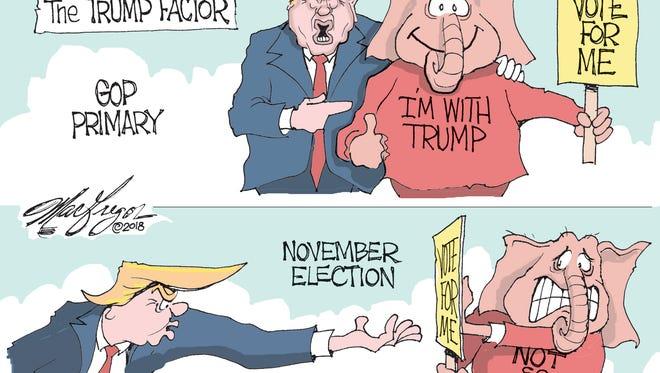 The primary.