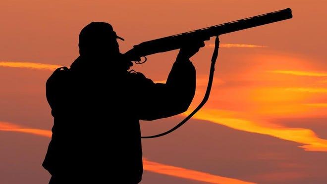Illustration of a hunter