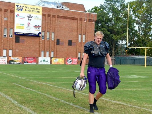 100 yards with ... Waynesboro's Isaac Edwards