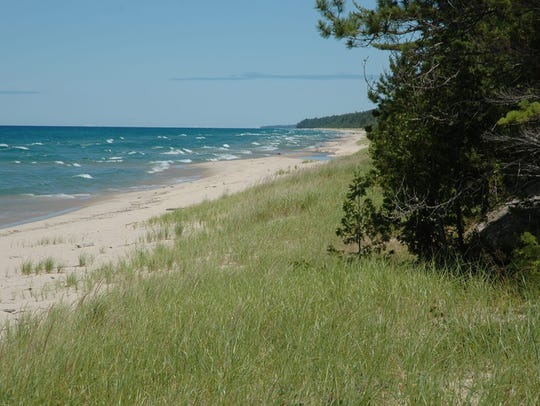 Twelvemile Beach in the Pictured Rocks National Lakeshore