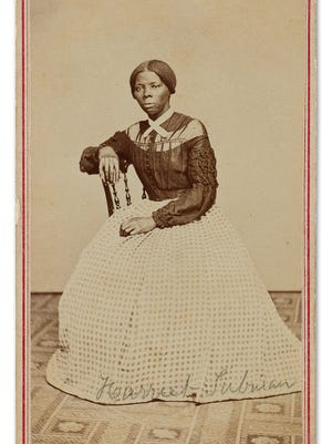 A previously unrecorded photo of Harriet Tubman, circa 1860s, sold Thursday at auction for $161,000.