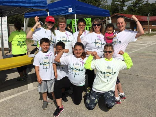 More than 100 walkers raised more than $12,500 for