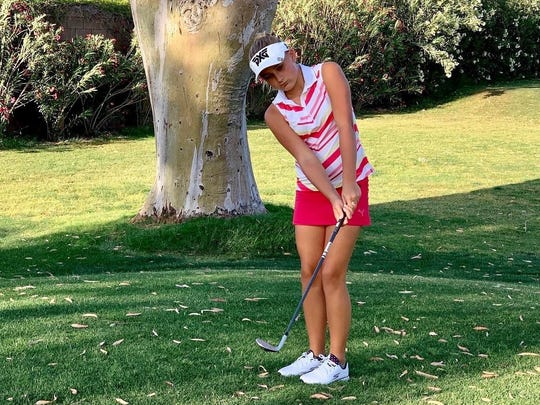 11-year-old unconcerned being youngest in the field at U.S. Women's Amateur