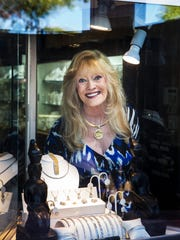 Marilyn Janss, owner of Cleopatra's Barge Fine Jewelry