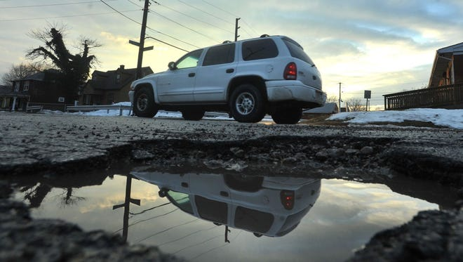 The city of Indianapolis has begun a pothole-filling blitz to address the mounting complaints this winter.