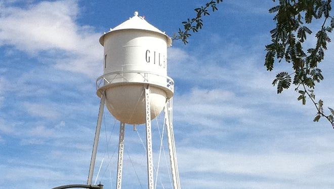 The Gilbert water tower is an enduring landmark of the town.