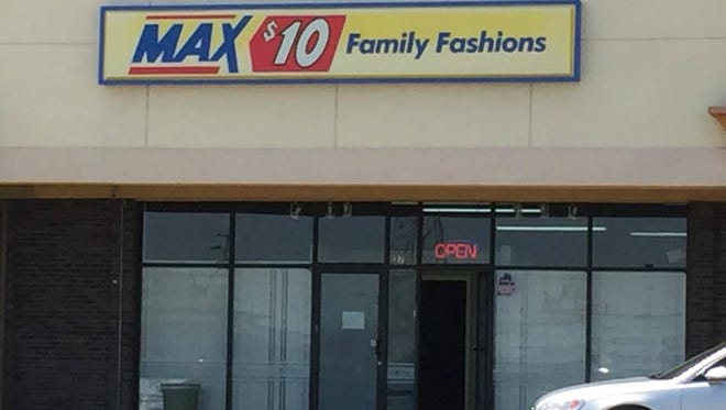 "Five Lansing women pleaded guilty on June 6, 2018 in connection with an illegal gambling operation out of a seemingly vacant store at South Martin Luther King, Jr. Boulevard in Lansing. The storefront, pictured here in April 2017, had a sign advertising  ""Max $10 Family Fashions,"" but investigators say it actually contained at least 60 gambling machines."
