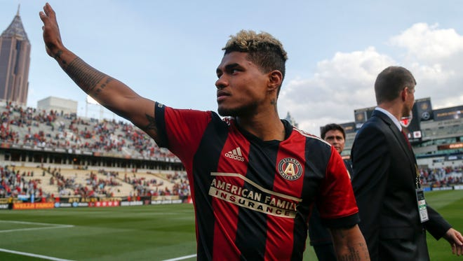 Josef Martinez scored two goals in Atlanta United's 4-0 hammering of the Chicago Fire.