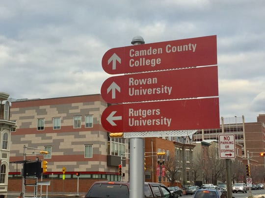 A shuttle bus now links multiple schools in downtown Camden.