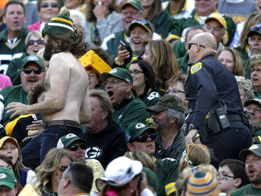Fan arrested during Jets game