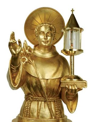 A relic associated with St. Anthony of Padua will visit Yonkers.