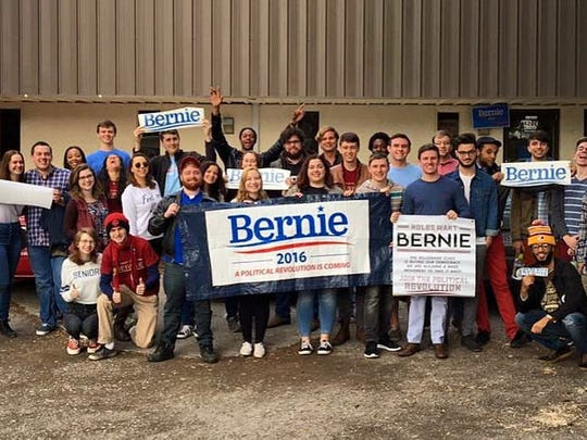 Pooler has extensive experience campaigning for Sanders,