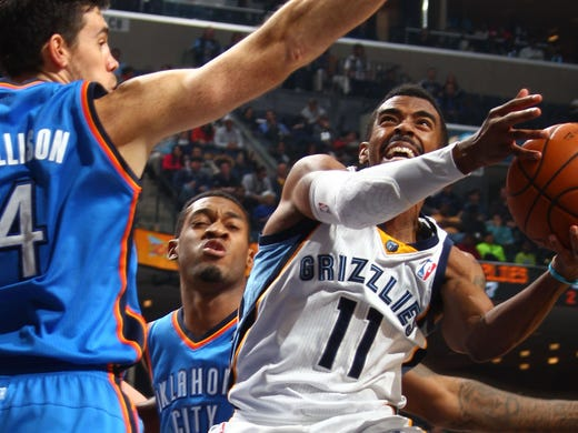 December 11, 2013 - Memphis Grizzlies guard Mike Conley