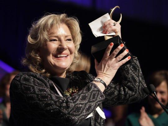 Kitty Van Bortel earned a national award to put along