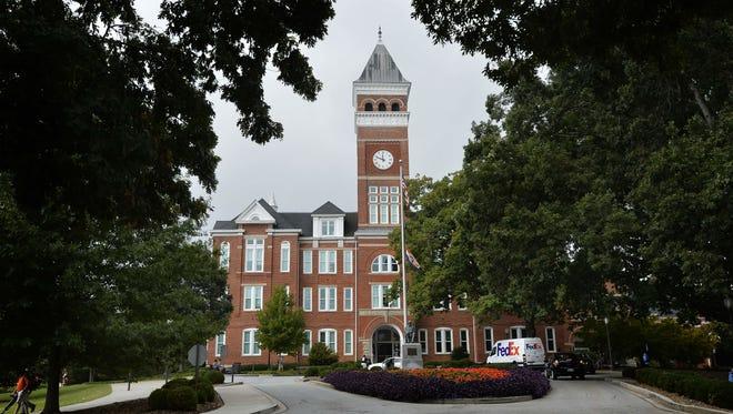 Clemson University's Tillman Hall.