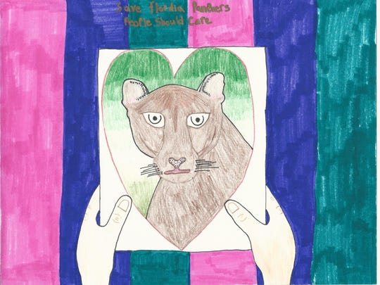 """Steele Idelson took third place in the 11-12 category of 12th Annual Children's Art Contest """"Coloring the Earth."""""""