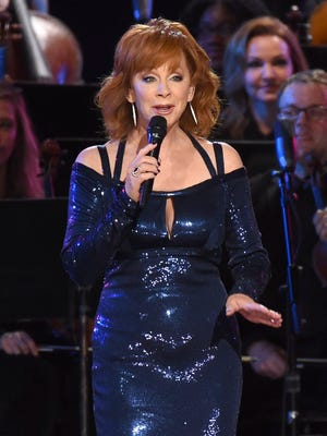 "Reba McEntire's new double album, ""Sing It Now: Songs of Faith and Hope,"" is out Friday."
