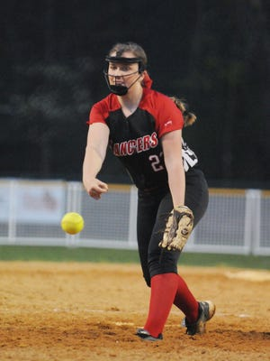 Rowan Kasica and the Lakeland Regional softball team take on rivals West Milford in Thursday's Passaic County Tournament semifinal round.
