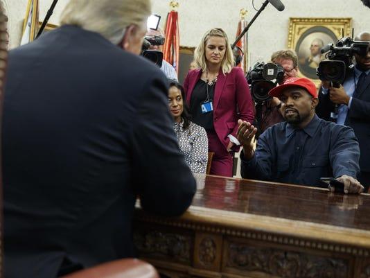 Donald Trump,Kanye West