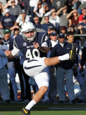 Nevada's Brent Zuzo is one of the most accurate kickers in the college game.