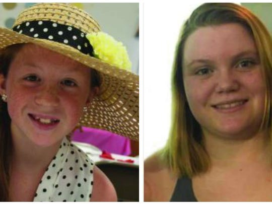 "The Delphi Police Department, the Carroll County Sheriff, the Indiana State Police, and the FBI are asking for your assistance in identifying the suspect in the double homicide of two teenage girls, Abigail J. ""Abby"" Williams, 13, left, and Liberty Rose Lynn ""Libby"" German, 14, both from Delphi."