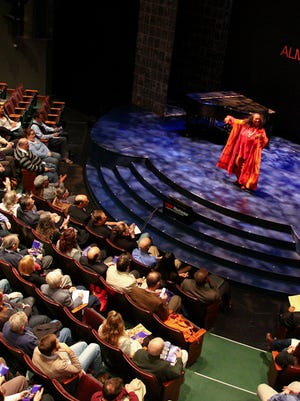 A scene from a past TEDx Rochester event at Geva Theatre Center.