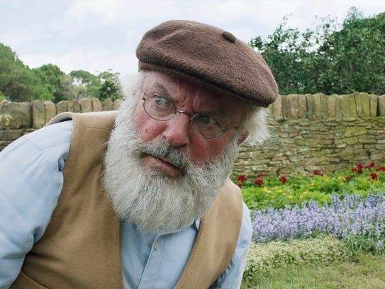 """Sam Neill plays Old Man McGregor in """"Peter Rabbit."""""""