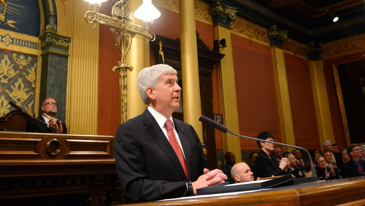 The things the Gov. Rick Snyder did not say in the State of the State