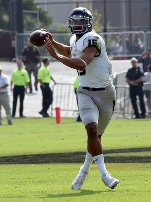 Wolf Pack quarterback Tyler Stewart.