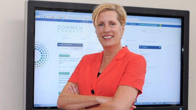 Cynthia LaConte, CEO and president of The Dohmen Co., at its headquarters in downtown Milwaukee.
