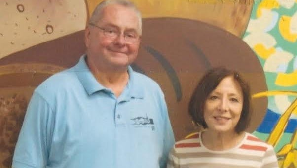 Jerry (left) and Chris Behnke, husband and wife, manage Peter's Pantry in Manitowoc.